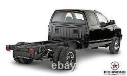 2002 Ram 1500 ST Work Truck -Passenger Side Lean Back Vinyl Seat Cover Dark Gray