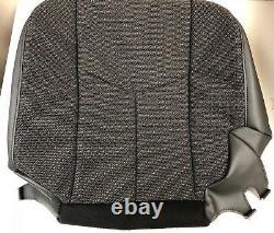 2003 2004 2005 2006 07 Chevy Silverado Work Truck Driver Bottom Cloth Seat Cover