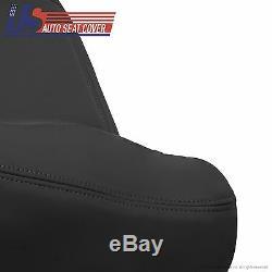2003 2004 2005 2006 Sierra Silverado Truck Driver Top Vinyl Seat Cover Dark Gray