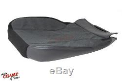 2003 2004 2005 Dodge Ram ST Work Truck -Driver Side Bottom Cloth Seat Cover Gray