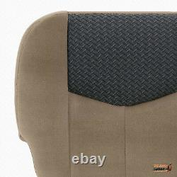 2003 2004 Chevy Avalanche 1500 2500 Truck PASSENGER Bottom Tan Cloth Seat Cover