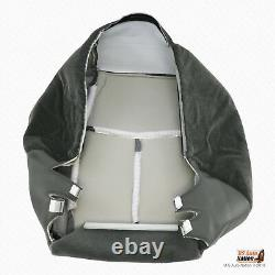 2003 2004 Chevy Avalanche Truck DRIVER Bottom Very Dark Pewter Cloth Seat Cover