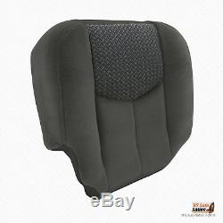 2003 2004 Chevy Avalanche Truck PASSENGER Side Bottom Cloth Seat Cover Dark Gray