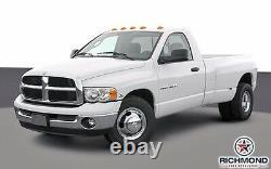 2003-2005 Ram 3500 Work Truck -Driver Side Lean Back Vinyl Seat Cover Dark Gray