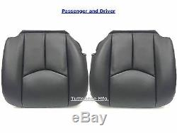2003-2006 Silverado Work Truck Seat Cover Driver&pass Set Very Dark Gray #69v