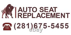 2003-2007 Chevy Silverado/Avalanche Work Truck Leather Seat Cover Dark Gray