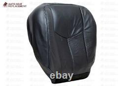 2003-2007 Chevy Silverado Avalanche Work Truck Leather Seat Covers Dark Gray 69V
