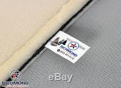2003-2007 Chevy Silverado Work Truck -Driver Lean Back Vinyl Seat Cover Tan