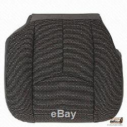 2003-2007 Chevy Silverado Work Truck-Driver Side Bottom Cloth Seat Cover Dk Gray