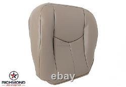 2003-2007 GMC Sierra Work Truck Base SL WithT -Driver Bottom Vinyl Seat Cover Tan