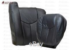 2003-2007 Sierra Chevy Silverado Avalanche Work Truck Seat Covers Dark Gray 69V