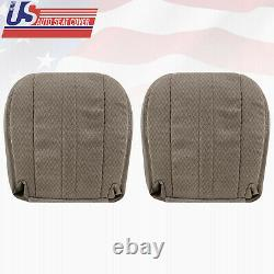 2003-2014 Chevy Express 1500 2500 3500 Van BOTTOMS CLOTH Seat Cover Tan