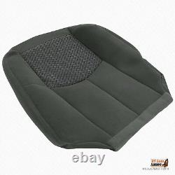 2003 Chevy Avalanche TRUCK Driver Bottom Cloth Seat Cover Very Dark Pewter Gray