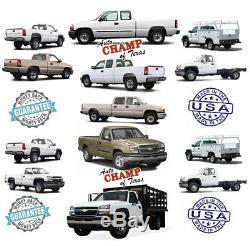 2003 Chevy Silverado 1500 Work Truck-Driver Side Bottom Cloth Seat Cover Dk Gray