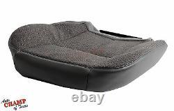 2003 Chevy Silverado 3500 Work Truck-Driver Side Bottom Cloth Seat Cover Dk Gray