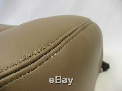 2003 Chevy Silverado truck Driver and Passenger Bottom-Leather-Seat-Covers Tan