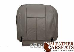 2003 Dodge Ram Truck 1500 Driver Side Bottom Leather Seat Cover Gray