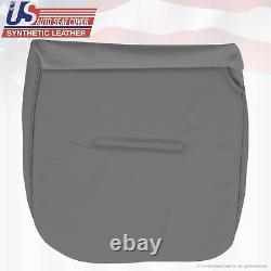 2004 2005 Ford F350 XL Work Truck Driver & Passenger Bottom Vinyl Seat Cover GRY