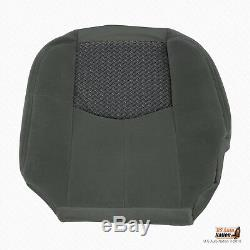 2004 Chevy Avalanche Truck Front Driver Bottom Cloth Seat Cover In Dark Gray 69D
