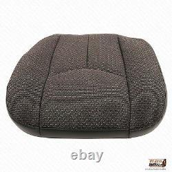 2004 GMC Sierra 2500 2500HD Work Truck Driver Bottom Cloth Seat Cover Dark Gray