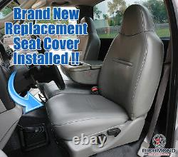 2005 2006 Ford F250 F350 XL Work Truck -Driver Side Bottom Vinyl Seat Cover Tan