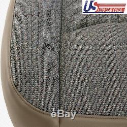 2005 2006 GMC Sierra 1500 1500HD Work Truck Driver Bottom Cloth Seat Cover TAN