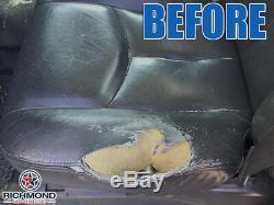 2005 2006 GMC Sierra 3500 ST Work Truck-Driver Bottom VINYL Seat Cover Dark Gray