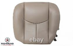 2005 Chevy 2500HD 3500 Work Truck Welding Bed-Driver Bottom VINYL Seat Cover TAN