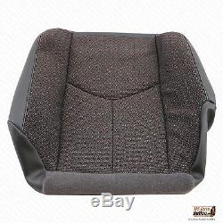 2005 Chevy Silverado Truck 2500HD Driver Side Bottom Cloth Seat Cover Dk Gray