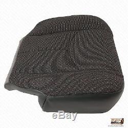 2005 GMC Sierra 2500 HD Work Truck -Driver Side Bottom Cloth Seat Cover Dk Gray