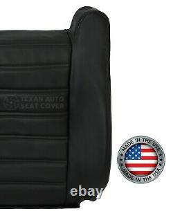 2005 Hummer H2 Luxury SUV SUT Truck Driver Lean Back Leather Seat Cover Black