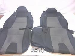2006-09 Original Mazda B2300/B4000 truck black with gray 60/40 seat covers