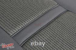 2006-2008 Dodge Ram 1500 SLT QUAD-CAB Driver Side Bottom Cloth Seat Cover Gray