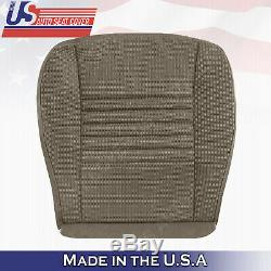 2006-2008 Dodge Ram 1500 WORK TRUCK Base Driver Bottom Cloth Seat Cover Tan