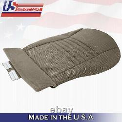 2006-2008 Dodge Ram 1500 WORK TRUCK DRIVER PASSENGER Bottom Cloth Seat Cover Tan