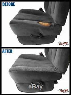 2006-2008 Dodge Ram WORK TRUCK Base ST -Driver Side Bottom Cloth Seat Cover Gray
