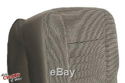 2006-2008 Dodge Ram WORK TRUCK Base ST -Driver Side Bottom Cloth Seat Cover Tan