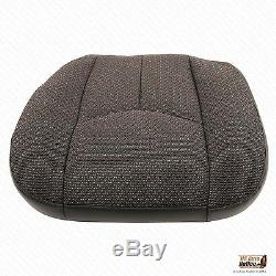 2006 Chevy Silverado Truck 2500HD Driver Side Bottom Cloth Seat Cover Dk Gray