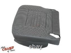 2006 Dodge Ram 2500 WORK TRUCK Base ST -Driver Side Bottom Cloth Seat Cover Gray