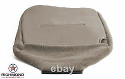 2006 Ford F250 F350 F450 Work Truck XL -Driver Side Bottom Vinyl Seat Cover Tan
