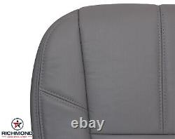 2007-2013 GMC Sierra 2500HD Work Truck -Driver Side Bottom VINYL Seat Cover Gray