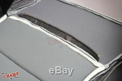 2007-2013 Toyota Tundra Base Work Truck-Driver Side Bottom Vinyl Seat Cover Gray