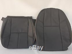 2007-2013Silverado Work Truck Seat Cover Driver Back/Bottom DTitaniumDGray#88V