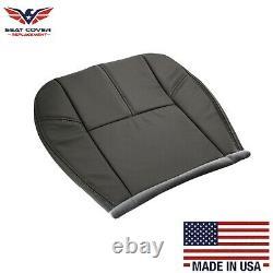 2007-2014 Chevy Silverado Work Truck Seat Cover In Dark Titanium Gray