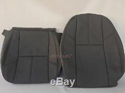 2007-2014Silverado Work Truck Seat Cover Driver Back/Bottom DTitaniumDGray#88V