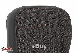 2007 Chevy 3500 Classic Work Truck-Driver Side Bottom Cloth Seat Cover Dark Gray