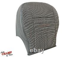2007 Dodge Ram 1500 ST Base WORK TRUCK -Driver Side Bottom Cloth Seat Cover Gray
