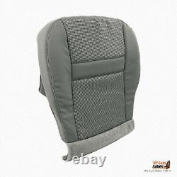 2007 Dodge Ram Truck Front Driver and Passenger Bottoms Fabric Seat Cover Gray