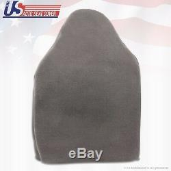 2008 2009 2010 Ford F250 XL Work Truck Driver Bottom-Top Vinyl Seat Cover GRAY