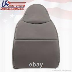 2008 2009 2010 Ford F550 XL Work Truck Driver Lean Back Vinyl Seat Cover Gray